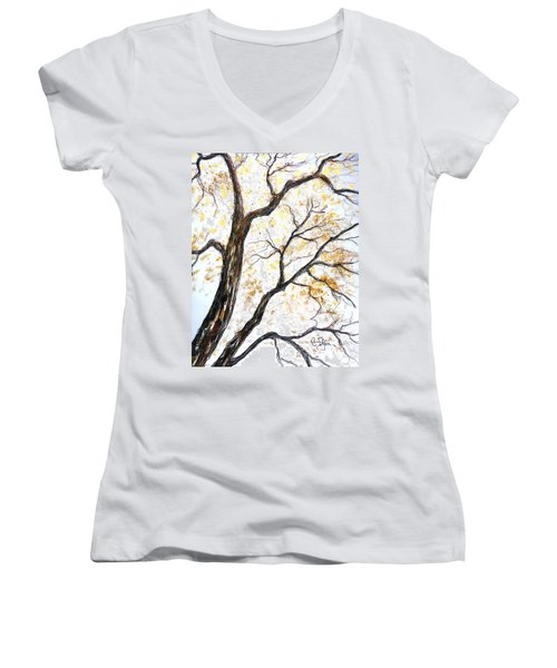 Tree Women's V-Neck