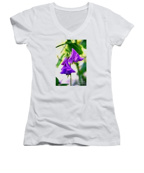 Triangles Women's V-Neck T-Shirt