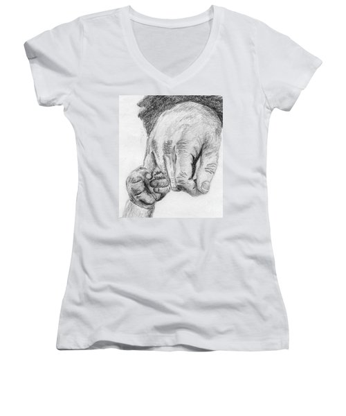 Trust Women's V-Neck T-Shirt