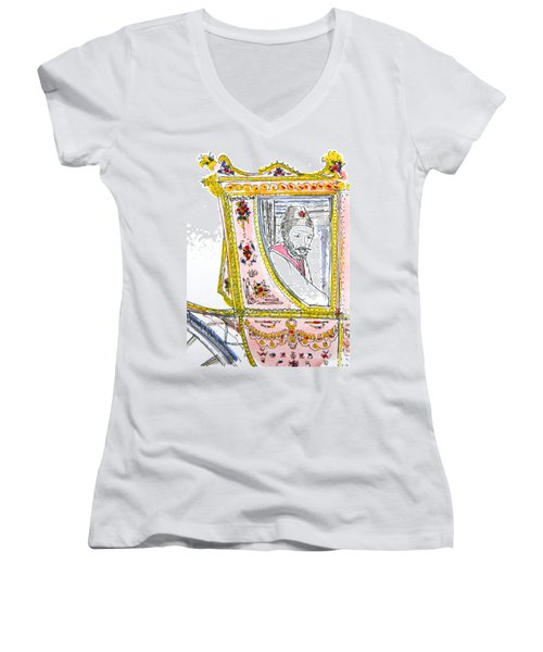 Tsar In Carriage Women's V-Neck