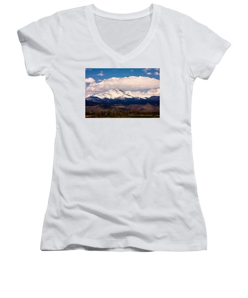 Twin Peaks Snow Covered Women's V-Neck