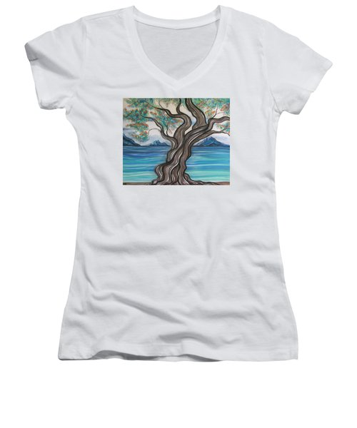 Twisted Tree Women's V-Neck T-Shirt