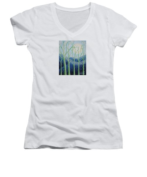 Two Hearts Women's V-Neck
