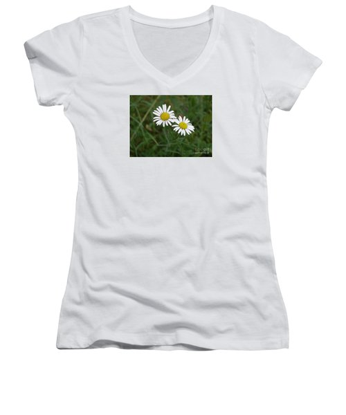 Two To The Sun Women's V-Neck T-Shirt