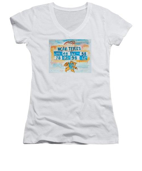 Uk Champs Women's V-Neck T-Shirt
