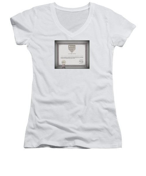 Ultimate Fan Women's V-Neck T-Shirt (Junior Cut)