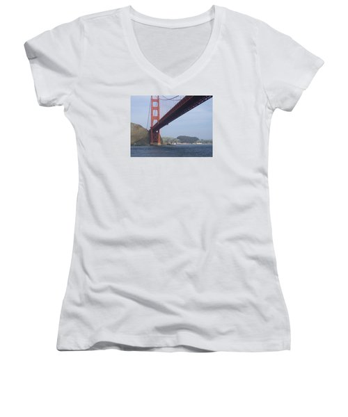 Under The Golden Gate Women's V-Neck (Athletic Fit)