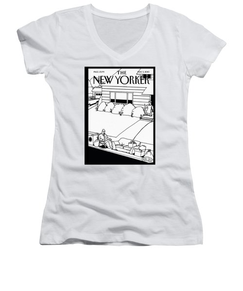 New Yorker May 3rd, 2010 Women's V-Neck