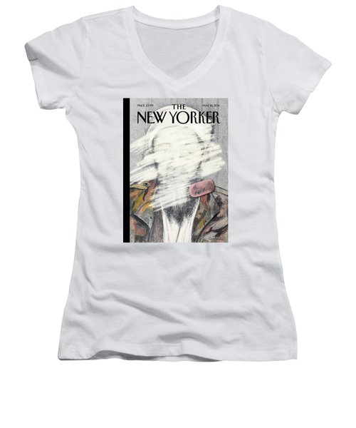 New Yorker May 16th, 2011 Women's V-Neck