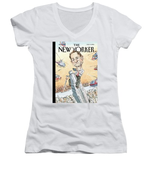 New Yorker August 5th, 2013 Women's V-Neck