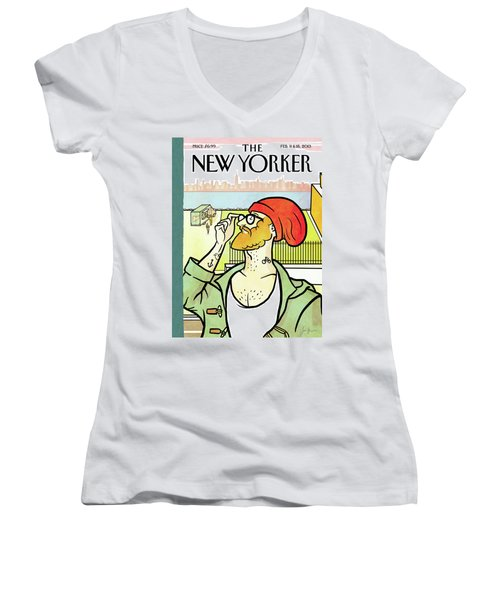 Brooklyn's Eustace Women's V-Neck