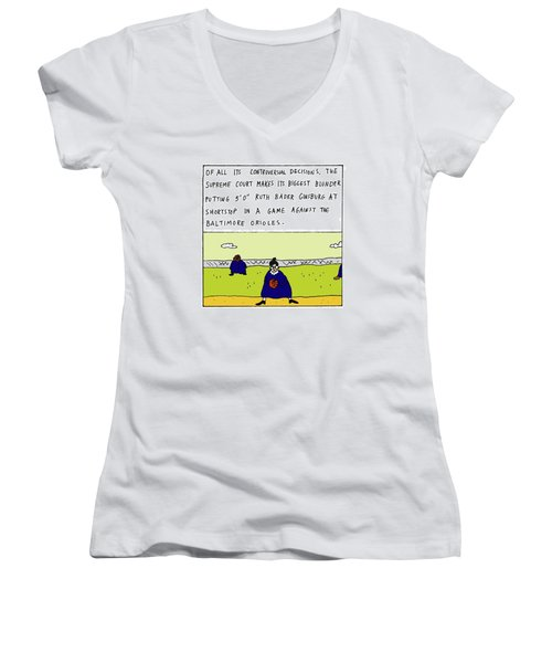 Of All Its Controversial Decisions Women's V-Neck