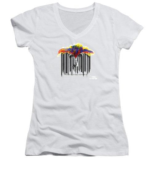 Unzip The Colour Code Women's V-Neck