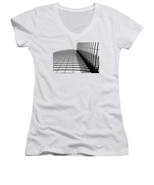Women's V-Neck T-Shirt (Junior Cut) featuring the photograph Up Up And Away by Tammy Espino