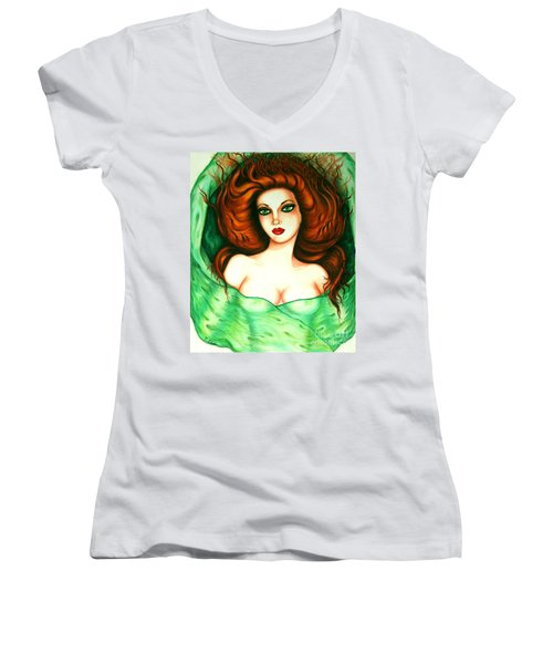 Veiled Women's V-Neck T-Shirt