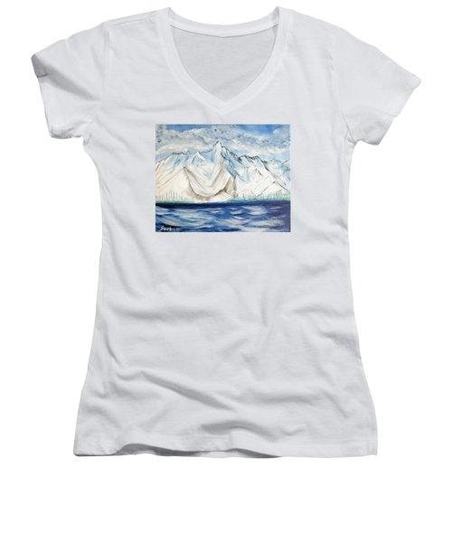 Vision Of Mountain Women's V-Neck T-Shirt