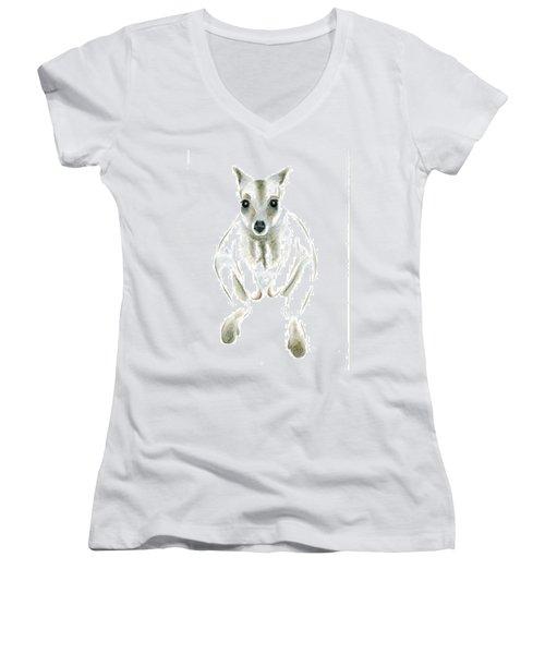 Wallaby I Women's V-Neck T-Shirt