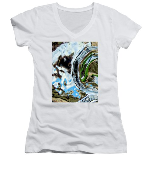 Water Captivates Women's V-Neck (Athletic Fit)