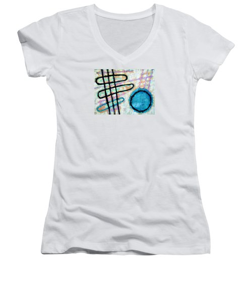 Water Frequency Women's V-Neck T-Shirt
