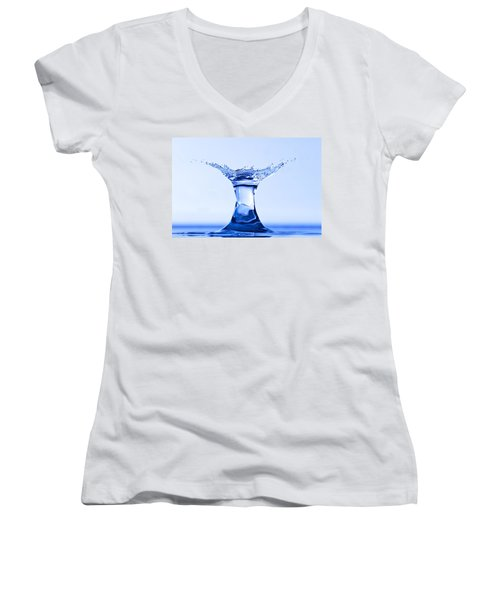 Water Splash Women's V-Neck