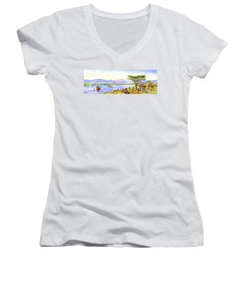 Water Village Women's V-Neck