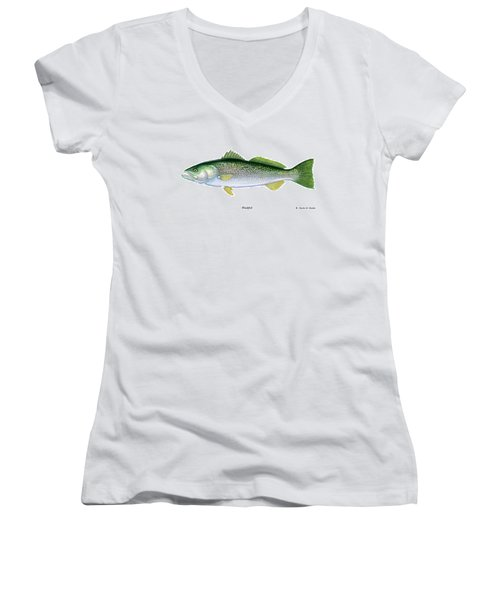 Weakfish Women's V-Neck