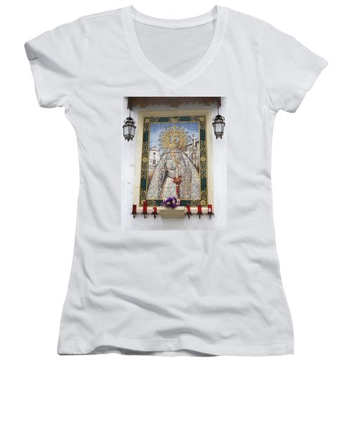 Weeping Virgin Women's V-Neck