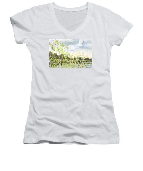 West Bay Napanee River Women's V-Neck (Athletic Fit)