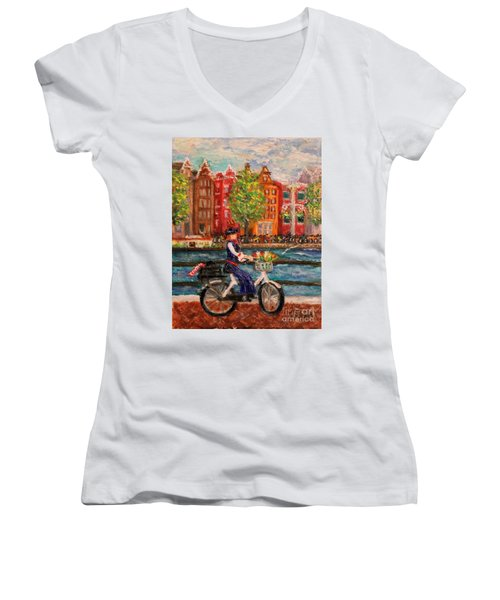 Where To ... Amsterdam Women's V-Neck (Athletic Fit)