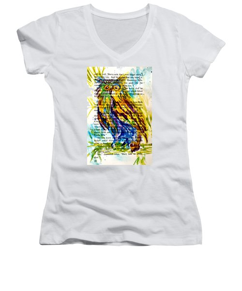 Who Is That Women's V-Neck