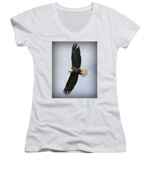 Wings Women's V-Neck