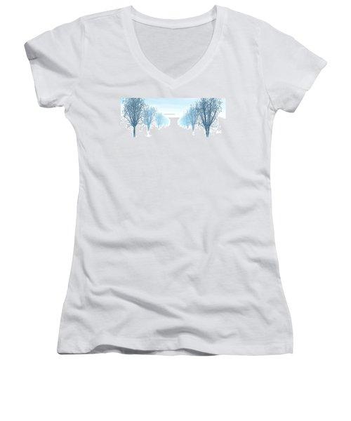 Winter Avenue Women's V-Neck T-Shirt