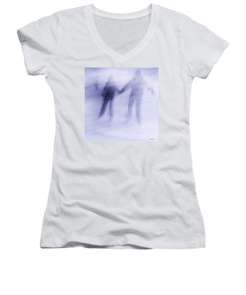 Winter Illusions On Ice - Series 1 Women's V-Neck T-Shirt