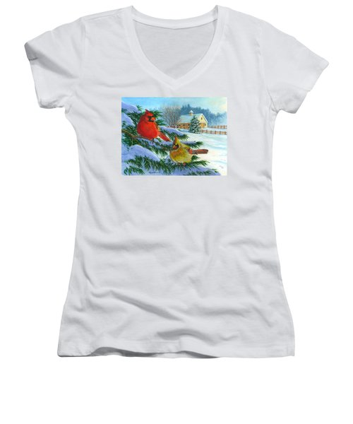 Winterlude Women's V-Neck T-Shirt