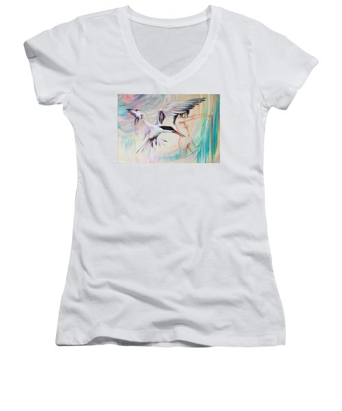 Wonderers Women's V-Neck