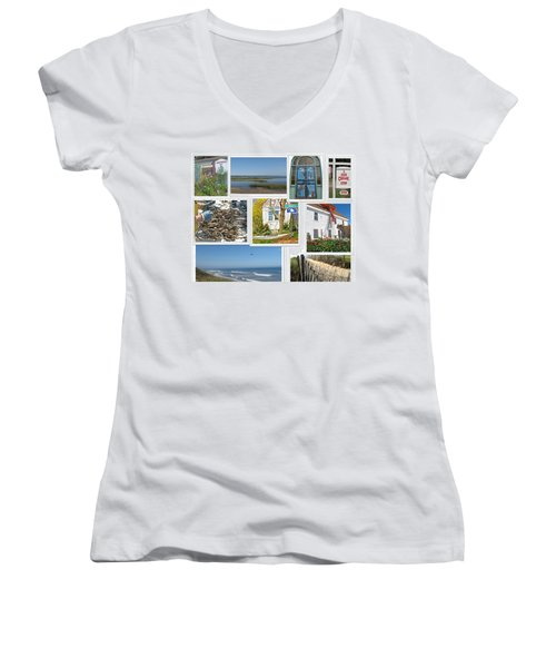 Wonderful Wellfleet Women's V-Neck (Athletic Fit)