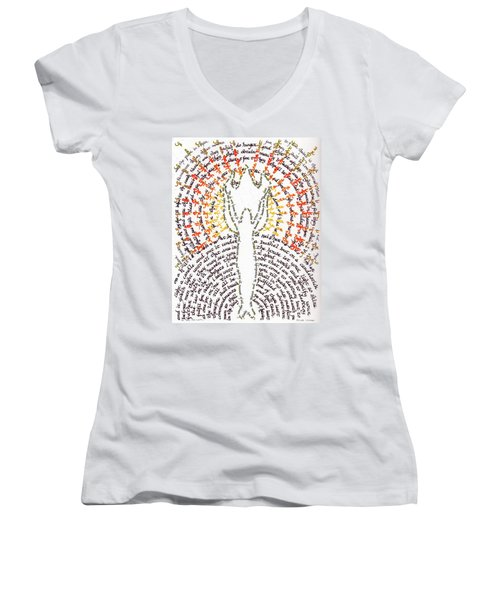 Ye Are The Light Of The World Women's V-Neck