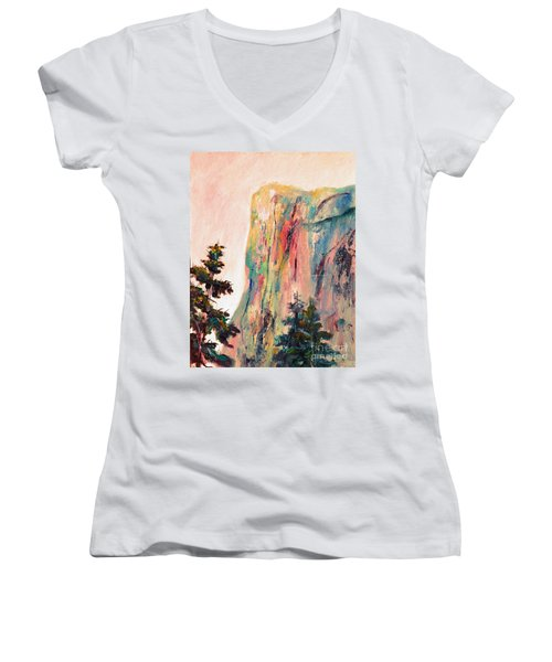 Yosemite El Capitan Women's V-Neck