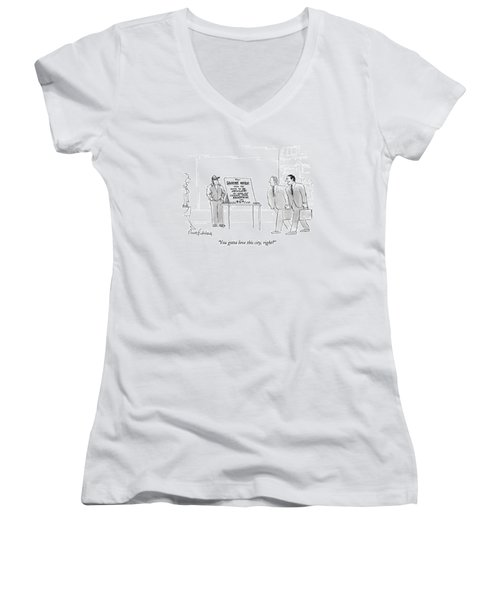 You Gotta Love This City Women's V-Neck