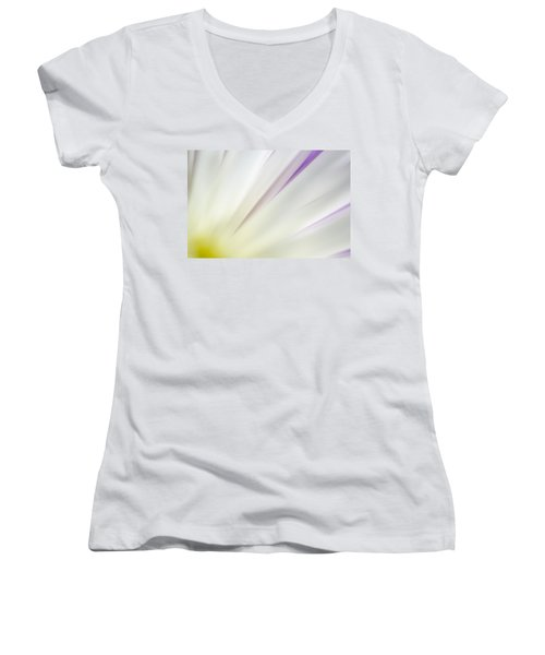 You Smiled...  And The Sun Came Out Women's V-Neck