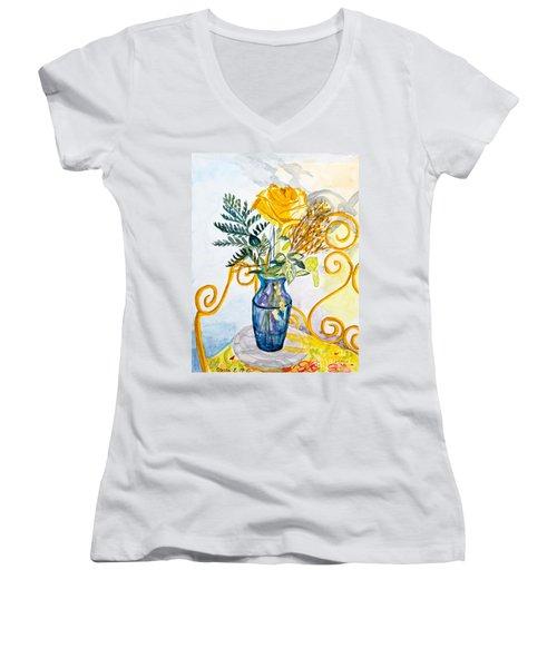 The Blue Vase Women's V-Neck