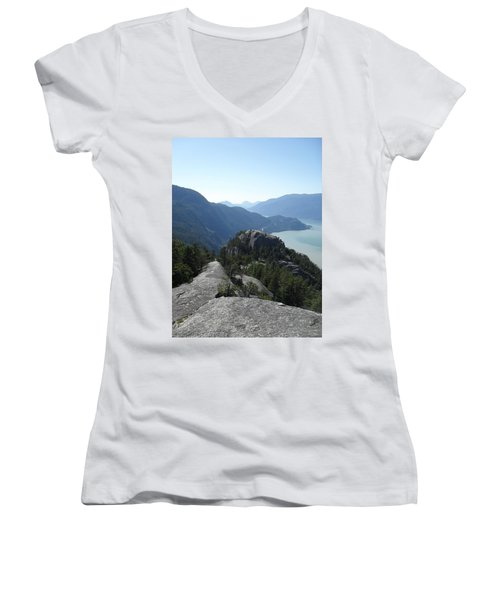 The Chief Women's V-Neck T-Shirt (Junior Cut) by Michael Standen Smith