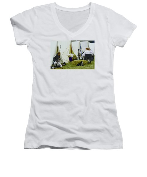 American Camp Women's V-Neck T-Shirt