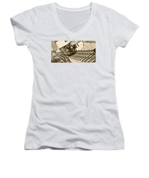 Angels Flight Women's V-Neck T-Shirt