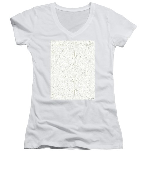 Barely There Women's V-Neck T-Shirt