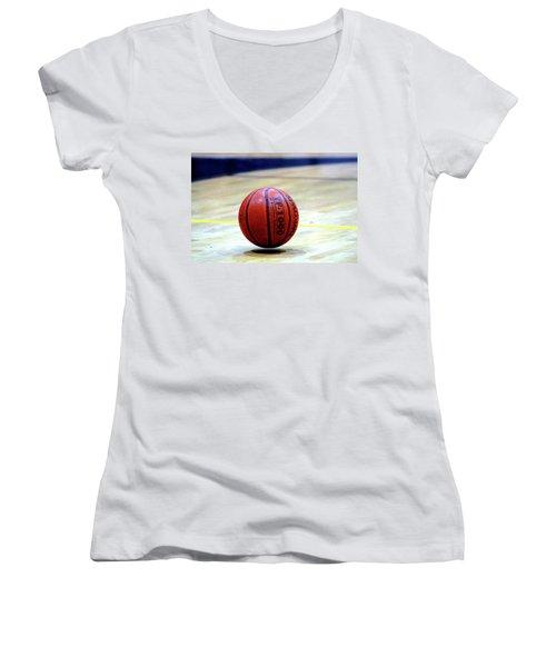 Bouncing Ball Women's V-Neck T-Shirt