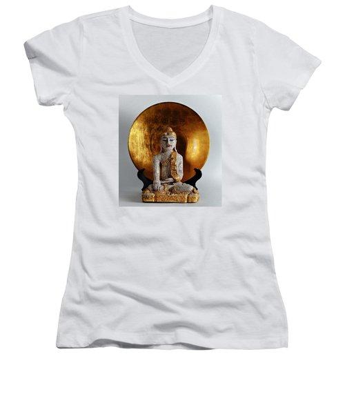 Buddha Girl Women's V-Neck