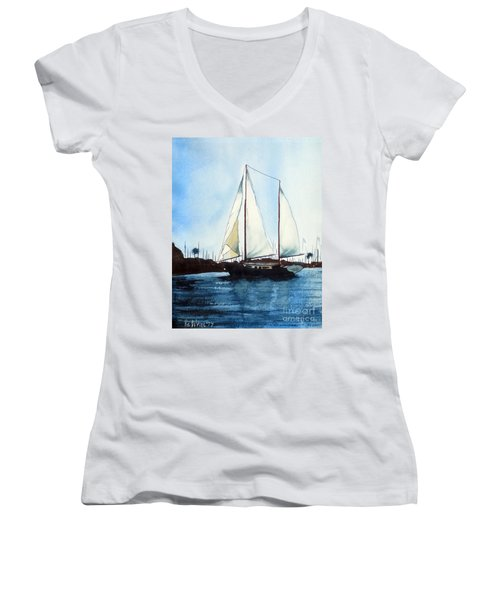 California Dreamin IIi Women's V-Neck
