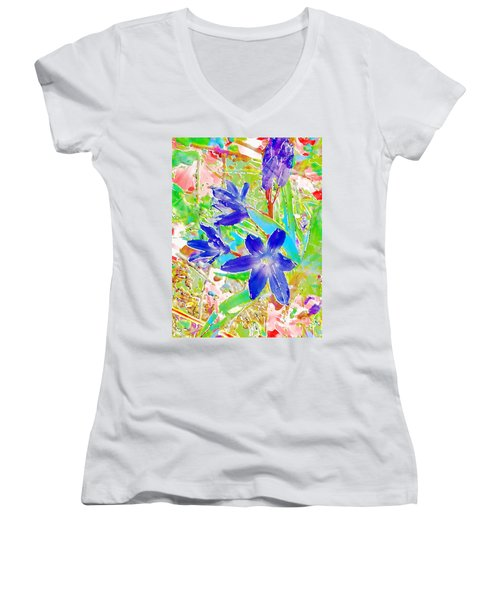 Chionodoxa Women's V-Neck T-Shirt