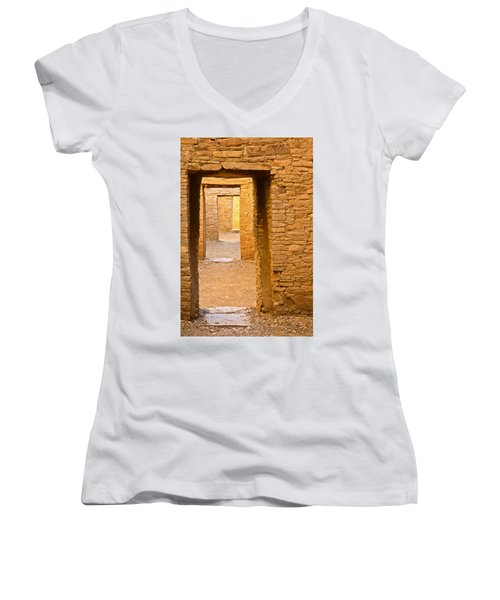 Doorway Chaco Canyon Women's V-Neck T-Shirt